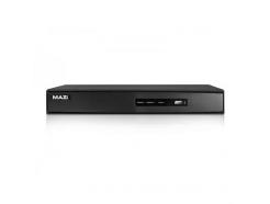 HAVR-04LT, hybridní DVR pro 4 kamery AHD/TVI/IP/analog, až 2 Mpx, 720p Real-Time, 1x SATA, MAZi