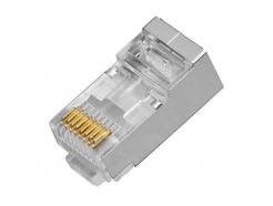 RX-RJ45CF, konektor RJ-45 pro datový kabel FTP, 8 kontaktů, CAT.6, 1000BASE-TX, RXTEC