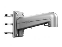 DS-1602ZJ-pole-P - konzole na sloup pro PTZ kamery; šedá barva