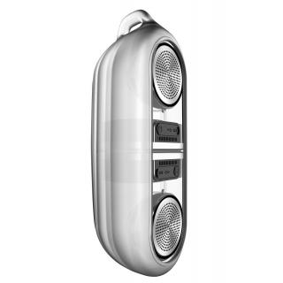 Bluetooth reproduktory CEL-TEC Stereo Master Transparent