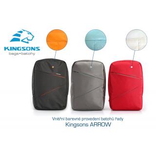 Kingsons Arrow Grey 15,6