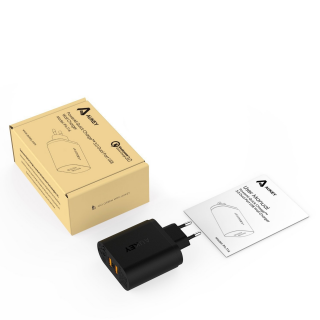Nabíjačka AUKEY Quick Charge 3.0 Dual Port Turbo Charger - PA-T16
