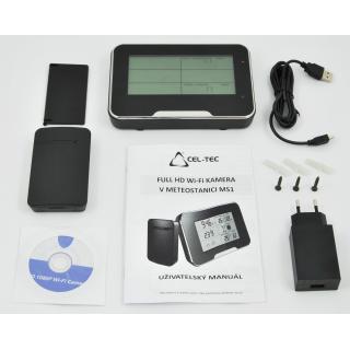 CEL-TEC meteostanice MS1 WiFi