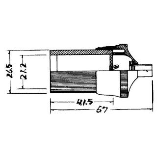 Napájecí autozásuvka K3205