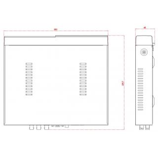 Kamerový set 1x AVTECH NVR AVH1104 a 4x 5MPX IP Bullet kamera AVTECH DGM5606 + 4x Kabel UTP 1x RJ45 - 1x RJ45 Cat5e 15m!