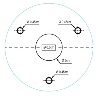 Kamerový set 1x AVTECH DVR DGD1009AV, 4x 5MPX Dome kamera AVTECH DGC5205TSE a 4x 5MPX Bullet kamera AVTECH DGC5105T