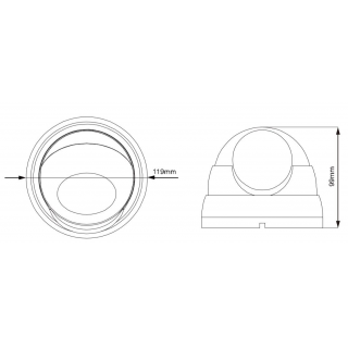 Kamerový set 1x AVTECH NVR AVH1104 a 4x 2MPX Motorzoom IP Dome kamera AVTECH DGM2443SVSE + 4x Kabel UTP 1x RJ45 - 1x RJ45 Cat5e 15m!