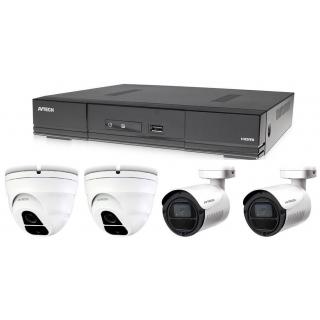 Kamerový set 1x AVTECH DVR DGD1005AV, 2x 5MPX Dome kamera AVTECH DGC5205TSE a 2x 5MPX Bullet kamera AVTECH DGC5105T