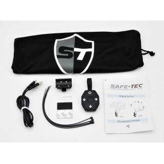 Safe-Tec TYR Black Red M (55cm - 58cm)
