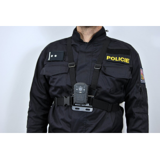 Hrudný pás k policajnej kamera CEL-TEC PK70