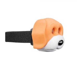 OXE LED čelová lampa, pes
