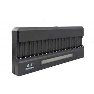 OXE Nabíječka baterií AA na 20 ks, s displejem