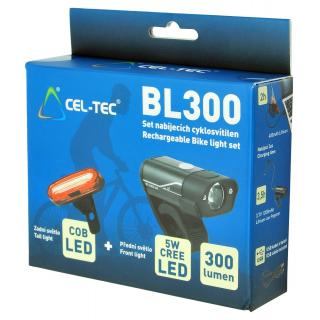 CEL-TEC BL300 set nabíjacích cyklosvetiel