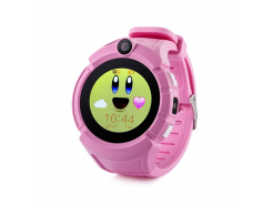 Detské hodinky s GPS lokátorom CEL-TEC GW600 Pink