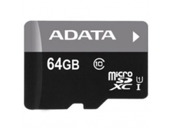 ADATA Premier Pro microSDXC 64GB UHS-I + SD adaptér