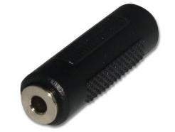 Audio spojka 3,5 mm Jack - 3,5 mm Jack samička - samička