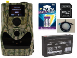 Fotopasca ScoutGuard SG880MK-18mHD + 16GB SD karta, 8ks batérií, AKU 6V/7Ah, kábel so svorkami!
