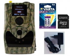 Fotopasca ScoutGuard SG880MK-18mHD + 16GB SD karta, 8ks batérií a napájací zdroj!