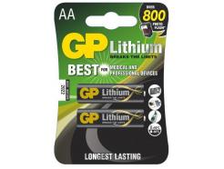12x GP batéria líthiová FR6 2BL AA