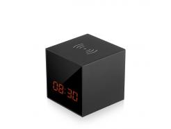 Skrytá IP kamera v stolových hodinách CEL-TEC Cube One WiFi WR