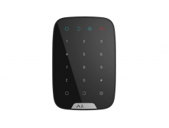 Bezdrôtová dotyková klávesnica Ajax KeyPad Black