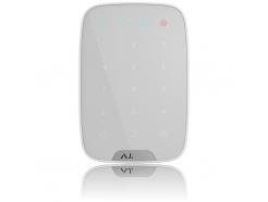 Bezdrôtová dotyková klávesnica Ajax KeyPad White