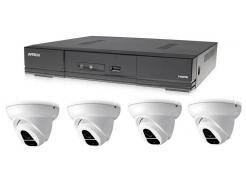 Kamerový set 1x AVTECH DVR DGD1005AV a 4x 2MPX Dome kamera AVTECH DGC1004XFT