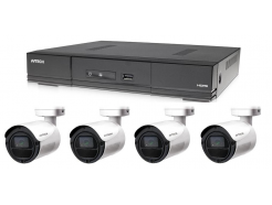 Kamerový set 1x AVTECH DVR DGD1005AV a 4x 5MPX Bullet kamera AVTECH DGC5105T