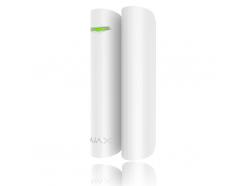 Bezdrôtový magnetický detektor otvorenia Ajax DoorProtect White