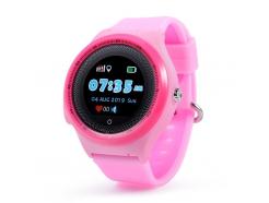Detské hodinky s GPS lokátorom CEL-TEC KT06 Pink
