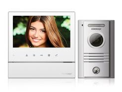 Commax CDV-70H biely/DRC-40K ekonomická sada 7 palcového handsfree videotelefónu a dverovej stanice