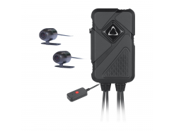 Duálna kamera na motorku i do auta CEL-TEC MK02 Dual Wi-Fi GPS