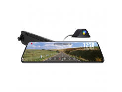 Kamera do auta v spätnom zrkadle CEL-TEC M12 DUAL GPS ExclusiveCEL-TEC M12 DUAL GPS Exclusive