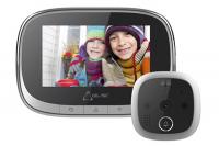 Wifi dverový priezor / kukátko do dverí s kamerou nielen pre seniorov.